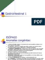 Gastrointestinal 1