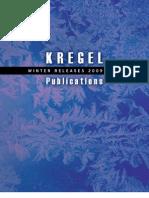 Kregel Winter 09-10 Announcement Catalog