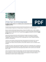 18th Annual Report - Top 100 Biotech Companies MedAdNews - Jun '09