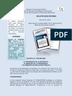 Adecuaciones Curriculares Decreto Final 2013