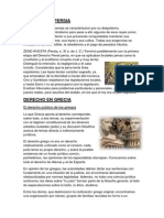 Derecho en Persia y Grecia
