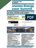 indonesia energy summit