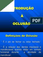 AULA 3 PPR - Oclusão - Terminologia