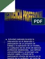 Exposicion Residencia Profesional (INDUCCION)