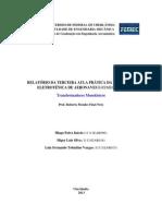 Relatório Eletrotécnica 03 - EDITADO LUIZ (Cópia em conflito de Higor Silva 2013-09-30)