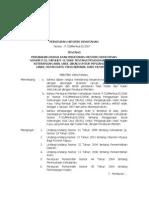 per-men-hut-2007-33-perubahan kedua atas permenhut-2006-51-penggunaan surat keterangan asal usul (skau) untuk pengangkutan hasil hutan kayu yang berasal dari hutan hak