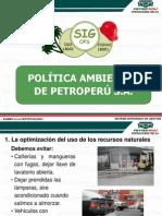 Charla Nº 05 Politica Ambiental (Todo Personal)