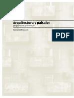 Arquitectura y Paisaje 2