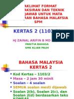 Penataran Format Kertas Bahasa_kertas 2