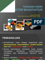 Sistem Manufaktur 1
