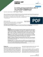 Anti-Helicobacter Pylori Activity and Immunostimulatory Effect Of