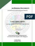 PBD Cargo Truck