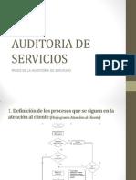 Auditoria de Servicios