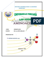 Estructura de Los Aminoacidos