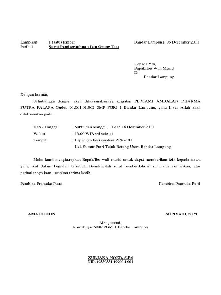 Contoh Surat Izin Orang Tua Untuk Pembuatan Visa - Contoh Z