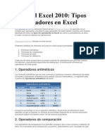 Tutorial Excel 2010