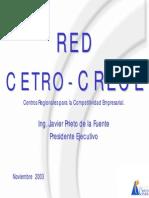 Presentacion Red Cetro - Crece Noviembre 2003