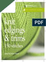 Knit Edgings F09