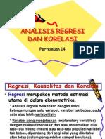 Bab 13 Analisis Regresi Dan Korelasi