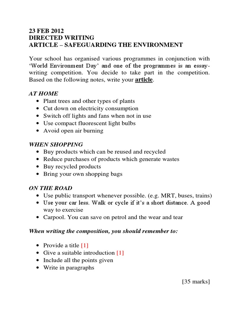 essay of environment essay environmental protection our work essay  spm essay dw article safeguarding the environment spm essay dw article safeguarding the environment recycling compact