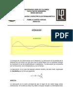 1. Atenuacion y Espectro Electromagnetico
