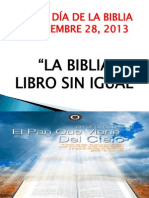 Programa Del Dia de La Biblia
