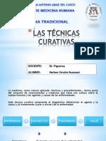 LAS TÉCNICAS CURATIVAS.pptx