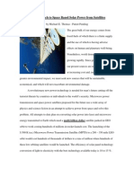 Microwave Power Transmission Satellite