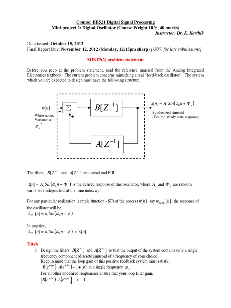 Mini-project-2--Digital oscillator design - Oct 15, 2012_2.pdf ...
