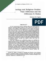 Ogden, Theology and Religoius Studies