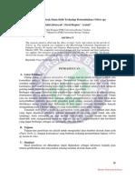3.ARNIATI. Pengaruh Ekstrak Daun Sirih Terhadap Pertumbuhan (Vibrio Sp)