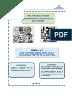 MÓDULO 3_LOS GRANDES PROBLEMAS DE LA FILOSOFÍA A TRAVÉS DE LA HISTORIA