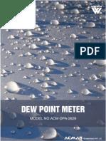 Dew Point Meter