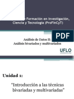 1. Profincyt - Análisis de Datos II
