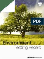 Environment Testing Meters