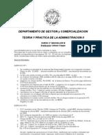 2do Bachiller B Teoria y Practica  Administracion II
