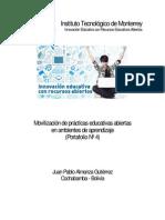 Portafolio 4 - MOVILIZACIÓN DE PRÁCTICAS EDUCATIVAS ABIERTAS