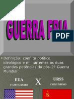 GUERRA FRIA - EXcelente