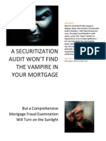Find the Vampire in Your Mortgage - Heed Matulka
