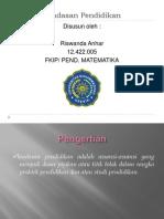 landasanpendidikanriswandaanhar-130221164013-phpapp01