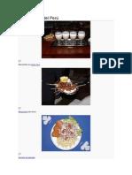 Gastronomía del Perú