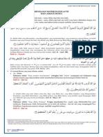 Ringkasan Materi PAI Kelas 7 Bab 3 Asmaul Husna