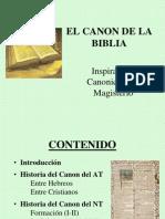 CanonBblico Breve