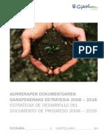 Estrategia de Desarrollo Del Documento de Progreso 2008-2016