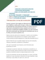 CURSO DE LA LEY DE ATRACCION