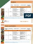 Trade Lead Bulletin 30 SEP 2013