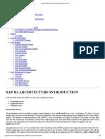 Sap r3 Architecture Introduction