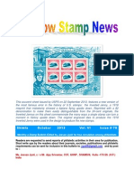 Rainbow Stamp News October 2013