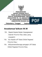 Pidato Pembukaan Pim IV 2011