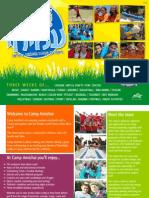 Camp Amichai 2014 Brochure - English
